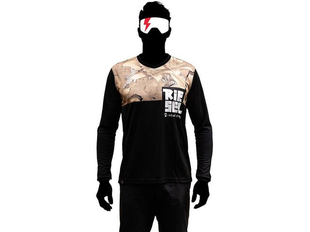 Riesel Design bang:er Maglia jersey a maniche lunghe, blossom